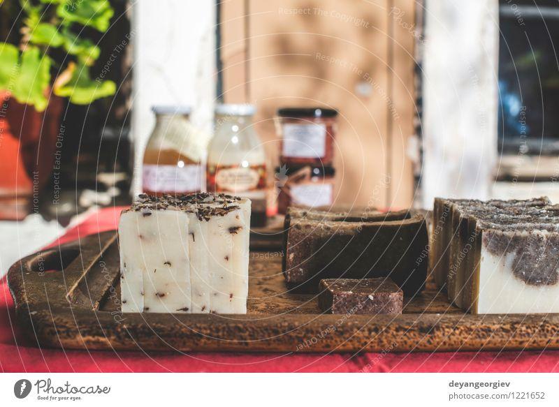 Handgemachte Seife Natur weiß natürlich frisch Körper Sauberkeit Wellness Beautyfotografie rein Kosmetik Reichtum aromatisch heimwärts organisch Spa