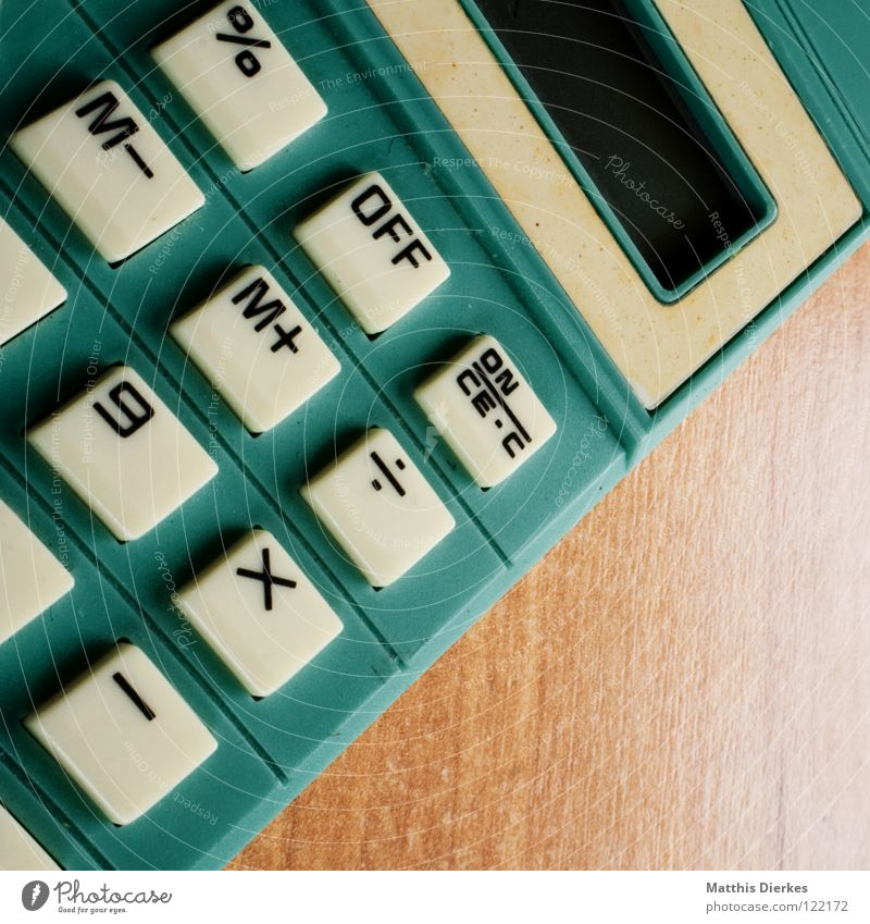 Rechner Taschenrechner Mathematik zählen ausschalten Sonnenenergie Helfer Technik & Technologie Naturwissenschaft Studium Makroaufnahme Nahaufnahme rechnen