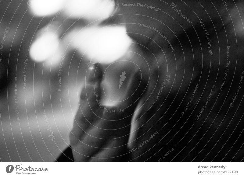 Desperado Mensch Mann Hand Erwachsene Leben Gefühle Traurigkeit maskulin Trauer Kommunizieren Wut Schmerz Leidenschaft Dynamik Desaster Aggression