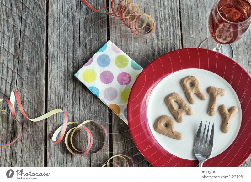 PARTY Freude Essen Feste & Feiern Party Dekoration & Verzierung Glas Ernährung Tisch Getränk Veranstaltung Silvester u. Neujahr Restaurant Karneval Geschirr Bar