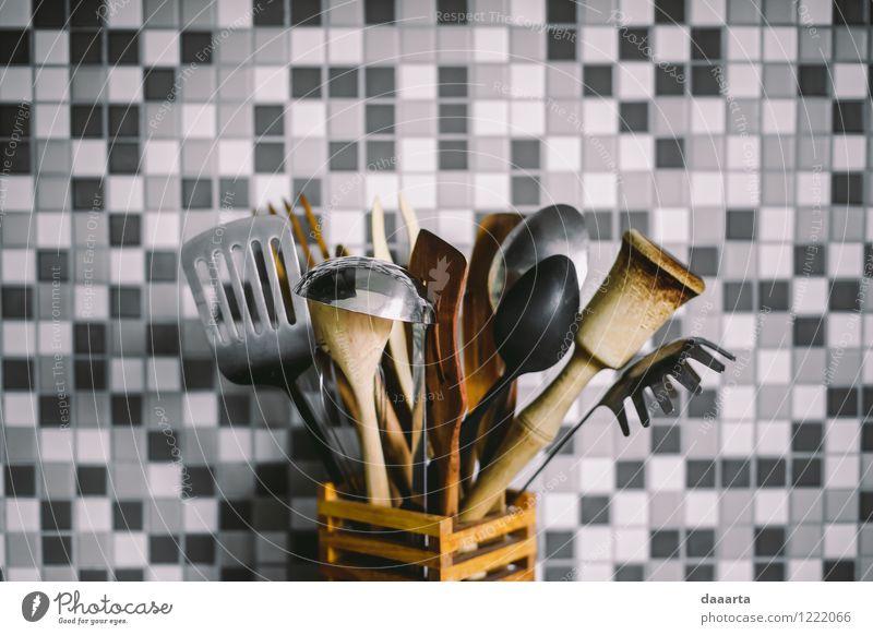 Werkzeuge Besteck Messer Gabel Löffel Lifestyle elegant Stil Design Leben harmonisch Freizeit & Hobby Häusliches Leben Wohnung Innenarchitektur Küche Restaurant