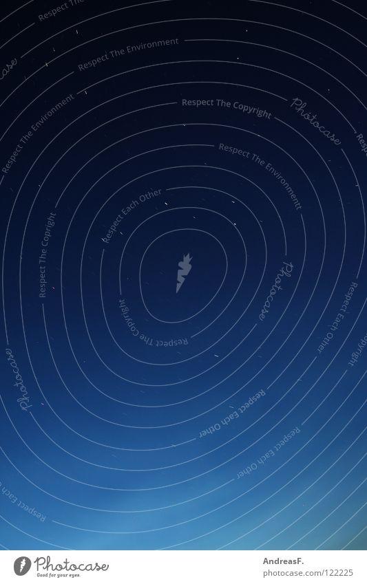 Sternenhimmel Himmel Natur blau schön dunkel fliegen Erde beobachten Weltall Abenddämmerung Blauer Himmel Planet Nachthimmel Himmelskörper & Weltall