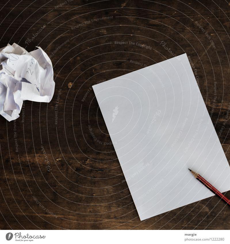 Schreib mal wieder! Schreibtisch Post Telekommunikation Business Erfolg Sitzung sprechen Team Informationstechnologie Medien Printmedien Papier Zettel