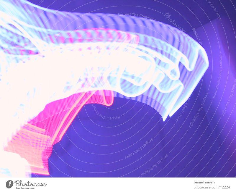 Mixeryyyy weiß blau rot violett Werbung Leuchtreklame