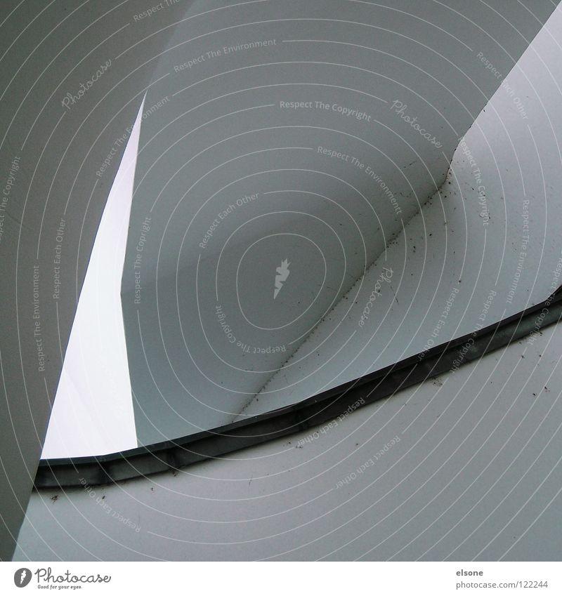 -->::e::<-- schön weiß Haus grau Gebäude hell Design elegant Beton modern ästhetisch Ecke Niveau einfach Sauberkeit