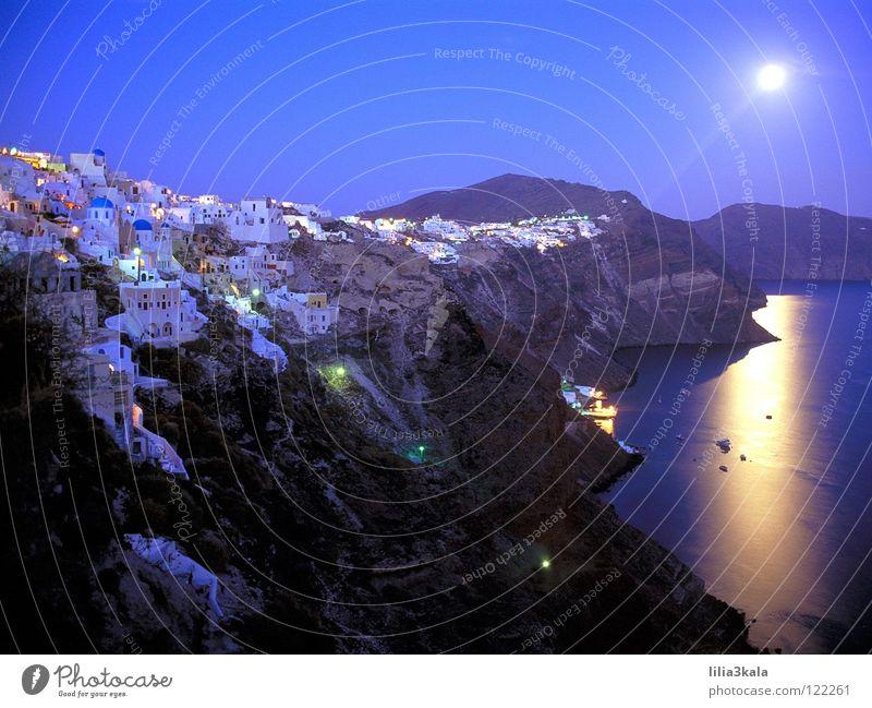 SANTORINI Griechenland Sommer Strand Meer bezaubernd Ferien & Urlaub & Reisen Europa Küste Insel wundeschoen Sonne blau