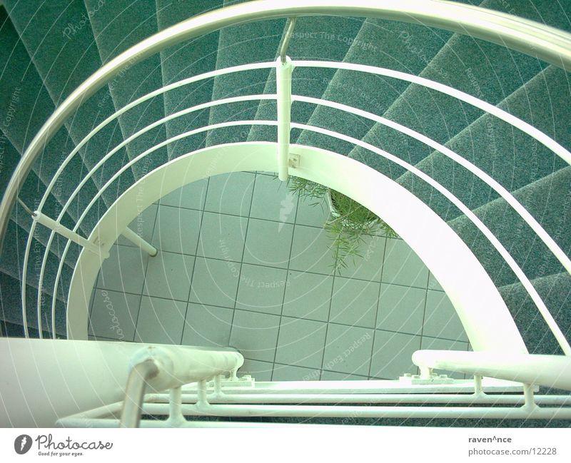 godown Architektur Treppe Bodenbelag unten Stahl fließen Wendeltreppe