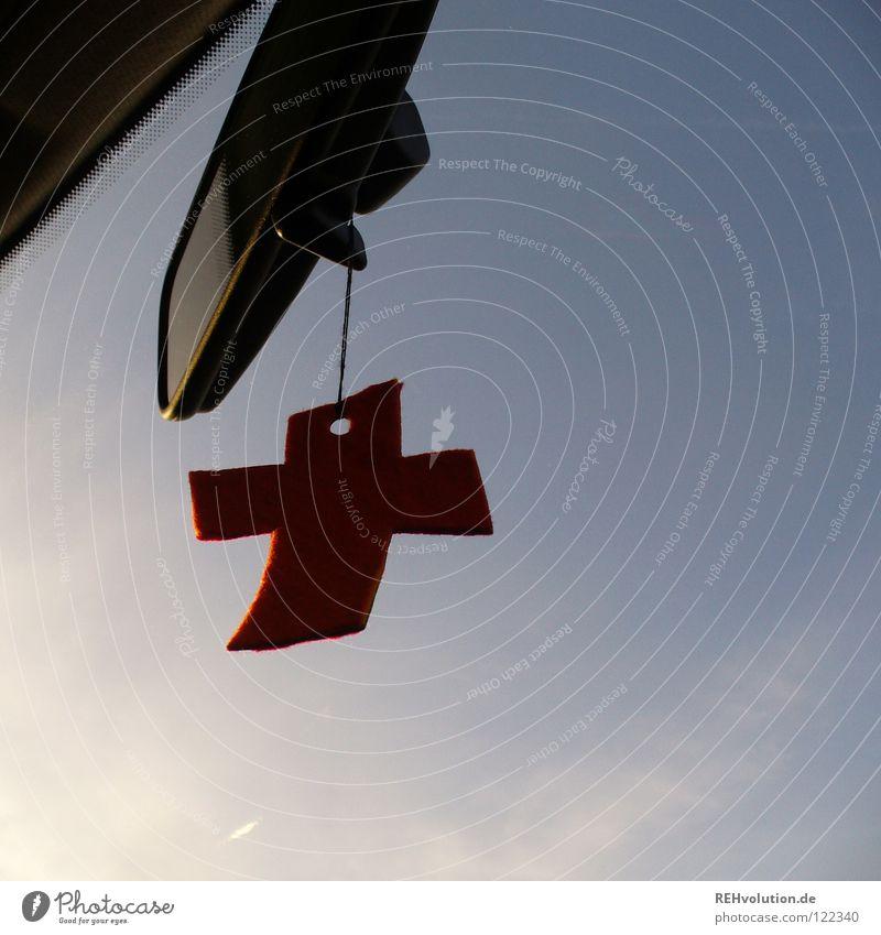 Rückblick Religion & Glaube Flüssigkeit Rückspiegel Vergangenheit danke schön Ewigkeit fahren Aussicht hängen baumeln Götter Christentum Leben groß