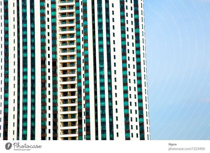 Thailand Bangkok Bezirkspaläste Himmel Ferien & Urlaub & Reisen Stadt alt blau Wolken Haus schwarz Architektur grau Fassade Tourismus dreckig Hochhaus Beton
