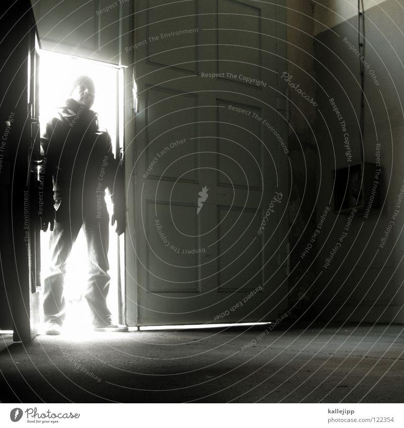 tag der offenen tür Licht Mann Meister blutrünstig töten Mörder Sekte Wetter Hölle Strahlung dunkel Mensch Monster Astronaut UFO außerirdisch Bewohner aufmachen