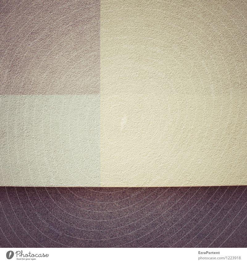 Farbflash Farbe Haus dunkel Wand Stil Mauer grau Linie Fassade Design Dekoration & Verzierung ästhetisch Beton Grafik u. Illustration graphisch Quadrat