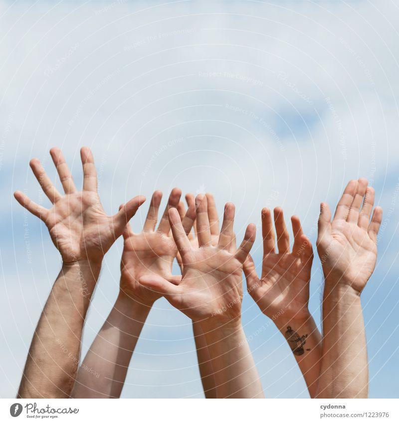 [3000] 10 Jahre mit euch! Mensch Jugendliche Junge Frau Hand Junger Mann Freude 18-30 Jahre Erwachsene Leben sprechen Feste & Feiern Freiheit Menschengruppe