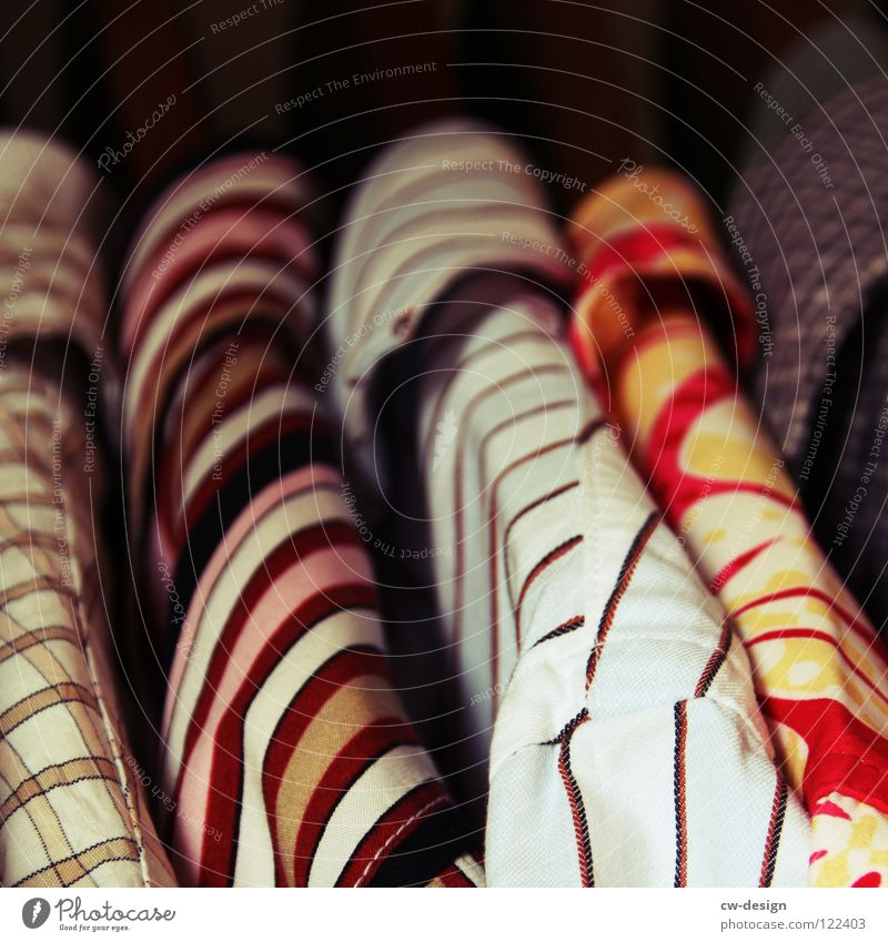 kleinkarierter spießbürger Arbeit & Erwerbstätigkeit rosa Ordnung Erfolg planen mehrere Bekleidung Zukunft Sicherheit Streifen Sauberkeit Beruf Gastronomie Hemd