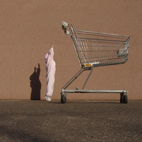 HasenMission | 2008 - nicht aufgeben Hase & Kaninchen Ostern rosa klein komplex kaufen Einkaufskorb Kunst Parkplatz Feiertag Wochenende Osterei schieben hoch