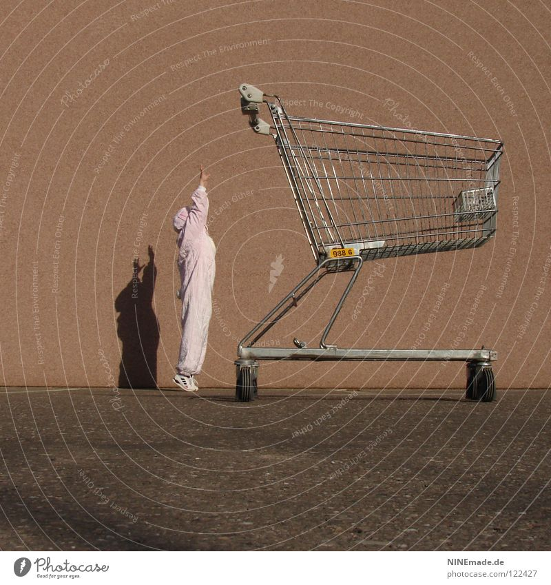 HasenMission | 2008 - nicht aufgeben Mensch rot Freude schwarz Tier dunkel Arbeit & Erwerbstätigkeit Schuhe Kraft orange Metall Kunst lustig planen klein rosa