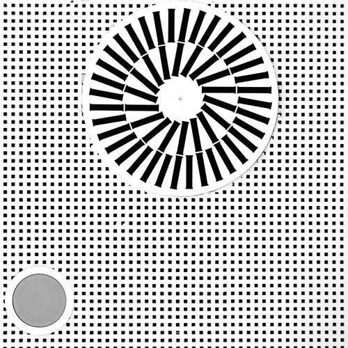Kalte Dusche Technik & Technologie Klimaanlage Zimmerdecke Einkaufszentrum Polen Osteuropa einfach oben rund verrückt grau schwarz weiß bizarr Design