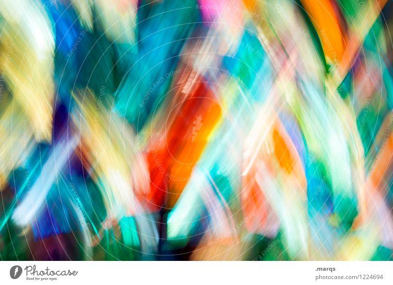 Wischiwaschi elegant Stil Design Glas Streifen ästhetisch außergewöhnlich Coolness einzigartig modern mehrfarbig chaotisch Hintergrundbild Farbfoto Experiment