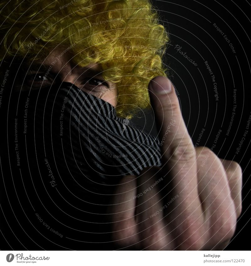 i don´t like mondays Witz Narren verrückt Stinkefinger Finger verkleiden Köln Mainz Rosenmontag Aschermittwoch Ausgelassenheit Tugend Tradition Hemmung Zwang