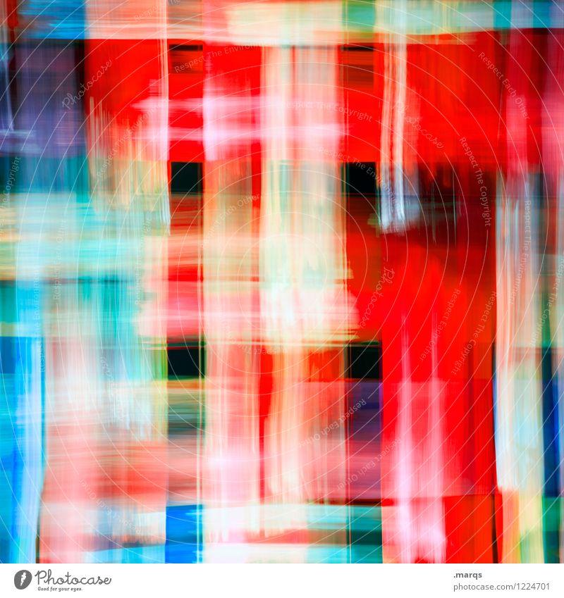 2400 Lifestyle Stil Design Kunst Glas Streifen leuchten Coolness trendy einzigartig modern Geschwindigkeit verrückt mehrfarbig Bewegung Farbe Irritation