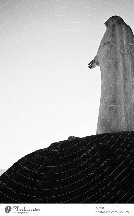 Maria Hand Himmel Stein Himmel (Jenseits) Religion & Glaube Felsen Hilfsbereitschaft Macht Mutter Vertrauen Statue Top Verzweiflung Gebet heilig