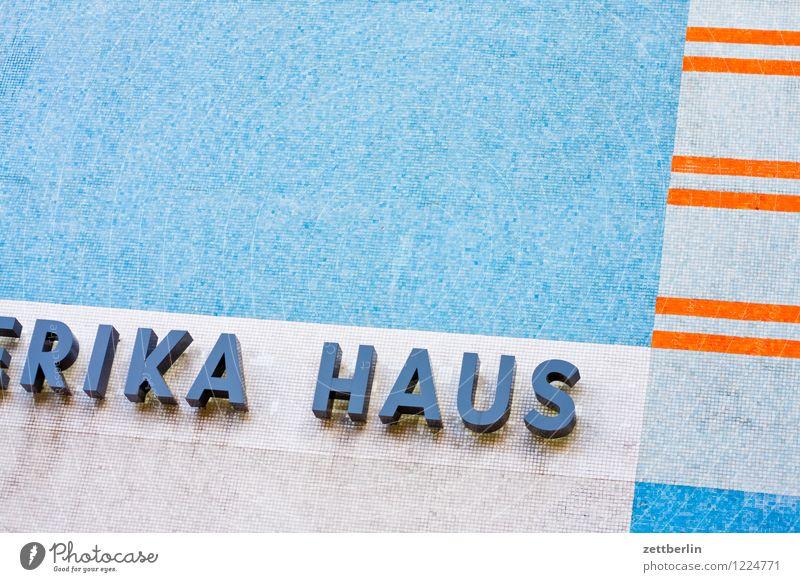 RIKA HAUS Haus Architektur Stil Berlin Kunst Fassade modern Fotografie Kultur Fahne Stars and Stripes Ausstellung Kunstgalerie Charlottenburg