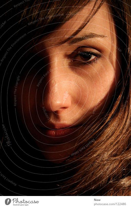 blick Frau Gesicht Auge Haare & Frisuren Mund Nase