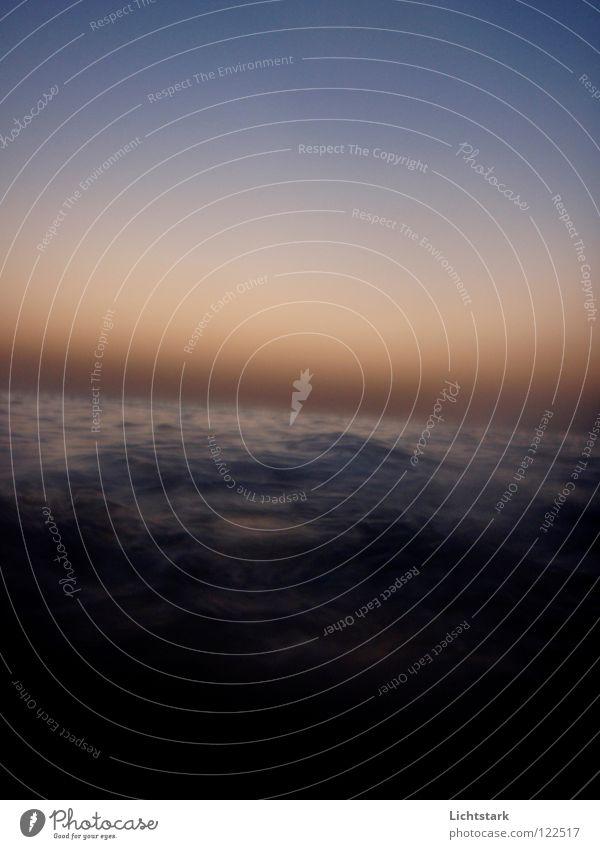 stille - hörst du .. Wasser Sonne Meer ruhig Farbe Religion & Glaube Kraft Wellen Afrika hören Moral Sturzbach Rotes Meer bernsteinfarben