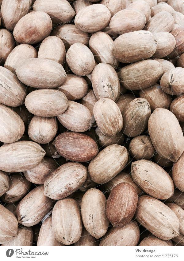 Pekannüsse, backgorund Lebensmittel Milcherzeugnisse Nussschale Muttern Ernährung Essen Snack Lifestyle kaufen Gesundheit Wellness Landwirtschaft