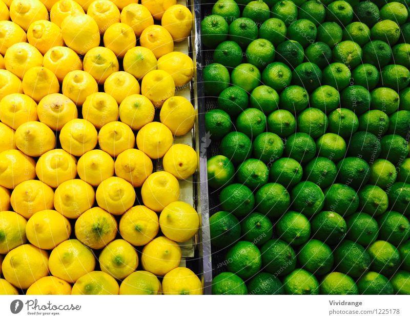 Zitronen und Limetten Natur Baum Umwelt Leben Gesundheit Lebensmittel Frucht Wellness Bioprodukte Vegetarische Ernährung Diät Fasten Limonade Milcherzeugnisse