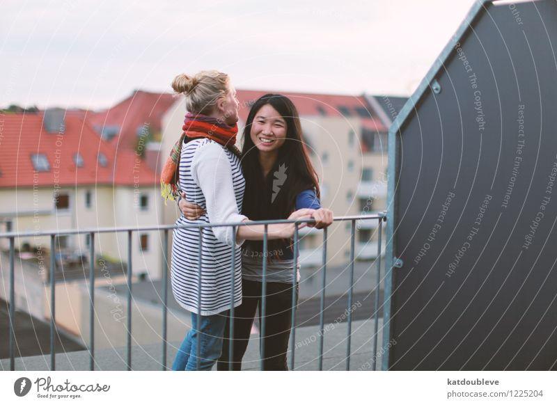 Time you enjoy wasting, was not wasted schön Liebe Gefühle Glück lachen Garten Zusammensein Freundschaft authentisch stehen Fröhlichkeit Lächeln Kommunizieren