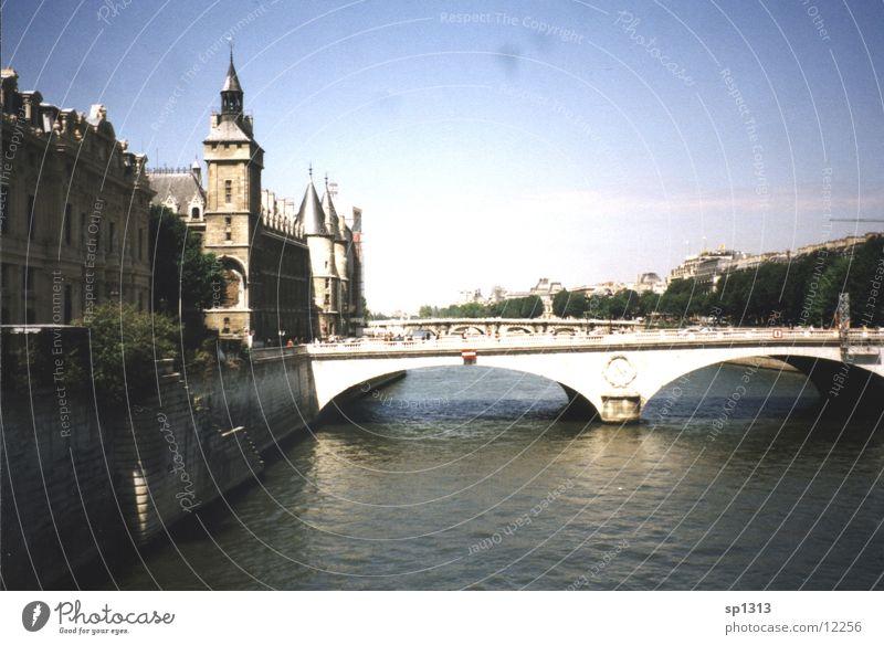 Paris - Seine Ferien & Urlaub & Reisen Brücke Architektur