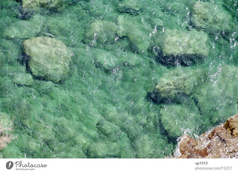 Meer Wasser Stein Meeresboden