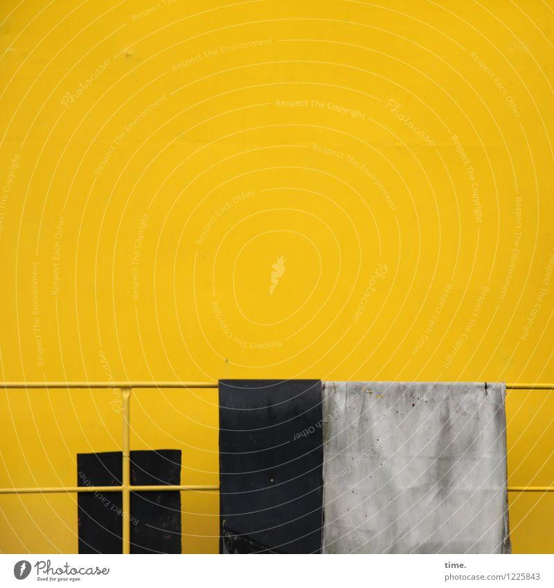 Spreedorado   abhängen Arbeit & Erwerbstätigkeit Arbeitsplatz Industrie Energiewirtschaft Maschine Technik & Technologie Fenster Geländer Tuch Erholung gelb