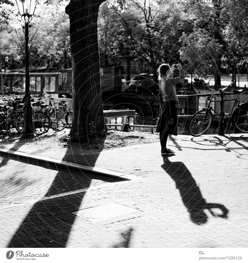 amsterdam Freizeit & Hobby Fotografieren Ferien & Urlaub & Reisen Tourismus Ausflug Sightseeing Städtereise Sommer Sommerurlaub Mensch feminin Frau Erwachsene