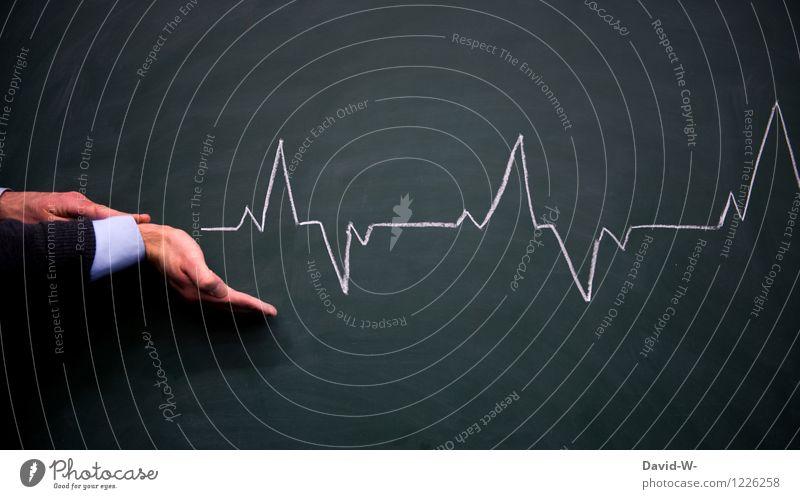Lebensrhythmus Mensch Erholung Hand ruhig Gesundheit Linie Gesundheitswesen maskulin Zufriedenheit Lebensfreude Zeichen Sicherheit sportlich Krankheit
