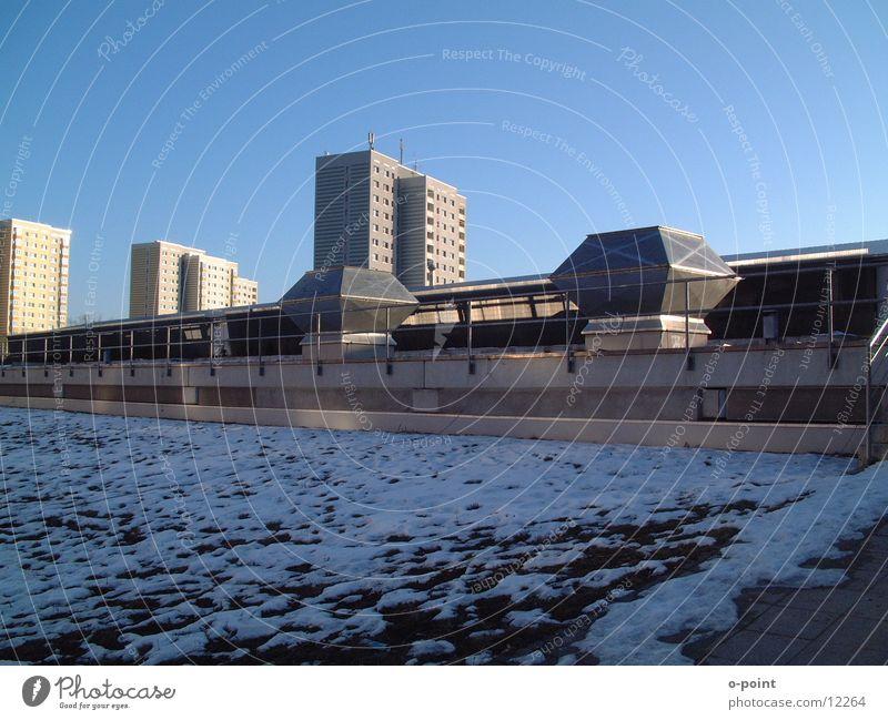 moderne stadt Stadt Architektur Hochhaus Dach