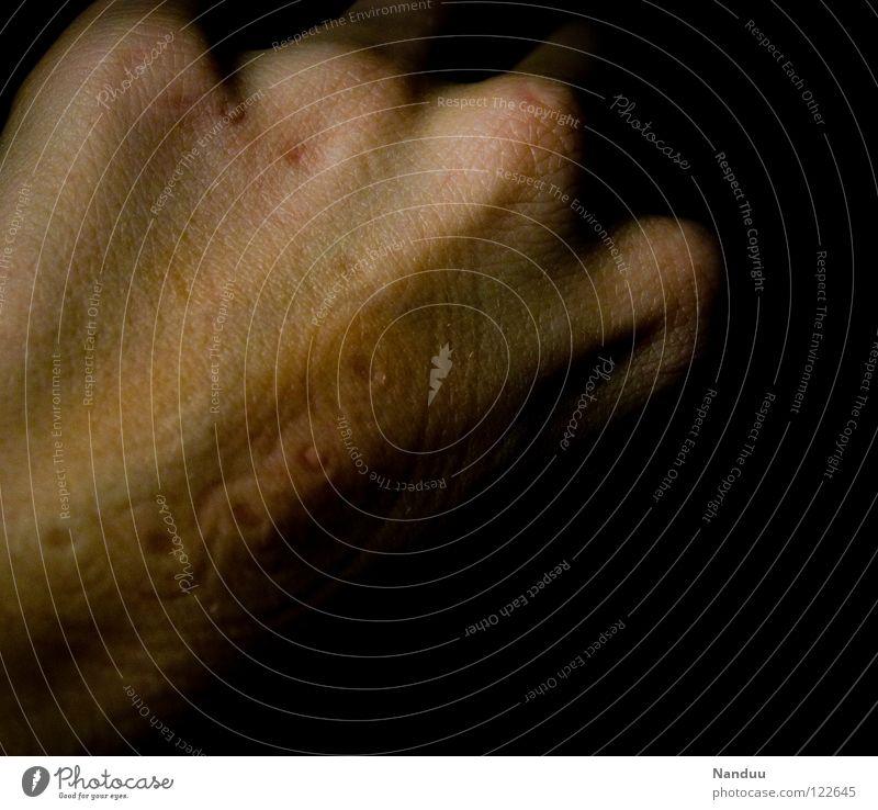Muster Mensch Hand dunkel lustig Haut Kreis Freizeit & Hobby Dekoration & Verzierung Vergänglichkeit außergewöhnlich Schmuck Fußspur seltsam Ornament Eindruck