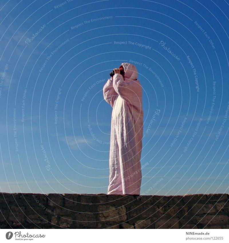 HasenMission | 2008 - suche Hase & Kaninchen Ostern rosa Mauer kuschlig himmelblau Aussicht genießen Suche wandern schön Physik stehen Dinge Hasenohren Freude