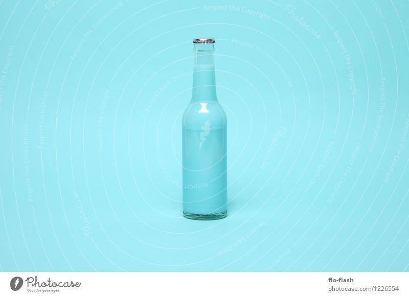 BIO ZERO // BOOOM blau Sommer Farbe Freude Stil Lifestyle Design elegant Glas verrückt retro süß Getränk neu Kitsch Bioprodukte