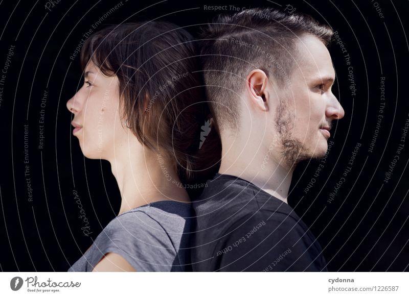 Profilbilder Mensch Jugendliche Junge Frau Junger Mann 18-30 Jahre Erwachsene Leben Liebe Business Paar Freundschaft träumen Zukunft Idee einzigartig planen