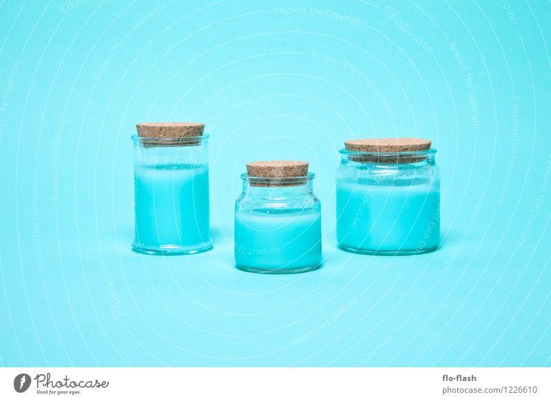 ZUSATZSTOFFE II blau schön Lebensmittel Design modern Glas verrückt fantastisch Getränk retro Industrie Kitsch lecker Süßwaren trendy Duft