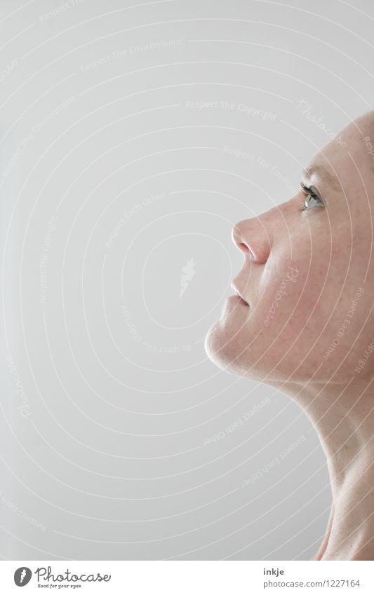 Generation Null Fehler Mensch Frau schön Erholung ruhig Erwachsene Gesicht Leben Gefühle natürlich Stil Gesundheit Lifestyle Zufriedenheit authentisch Haut