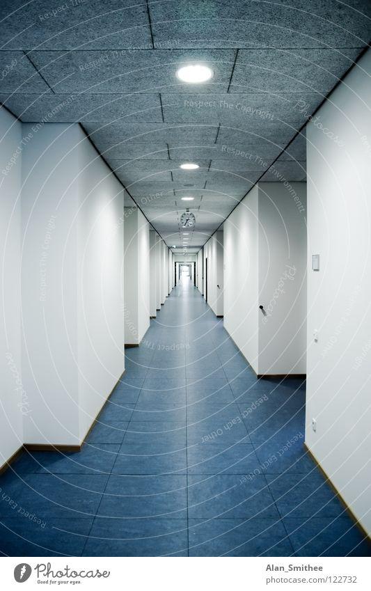 corridor Tanzfläche Büro Flur Gebäude Sauberkeit hallway building architecture school Schule new neu clean Arbeit & Erwerbstätigkeit Business Schulgebäude