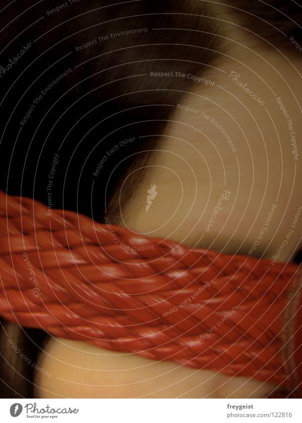 Senseless IV Frau dunkel Gefühle Haare & Frisuren blind hilflos ungewiss sinnlos