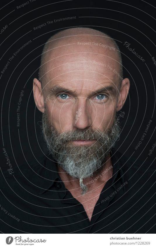 Actor - Julien Juergen Blaschke Mensch Mann kalt Erwachsene Auge Mode modern authentisch 45-60 Jahre gefährlich bedrohlich einzigartig Streifen Coolness Macht