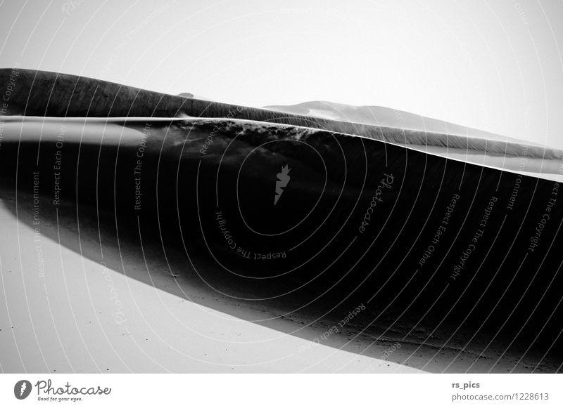 Panta Rhei Sonne Einsamkeit Landschaft Zeit Sand Luft Wind ästhetisch Urelemente Sehnsucht Wüste Sturm Zerstörung Sahara