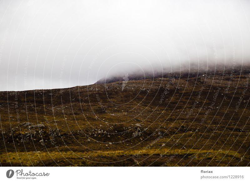 Highlands, Schottland Himmel Natur Ferien & Urlaub & Reisen Pflanze Wasser Landschaft Wolken Ferne Umwelt Berge u. Gebirge Traurigkeit Freiheit Luft Tourismus