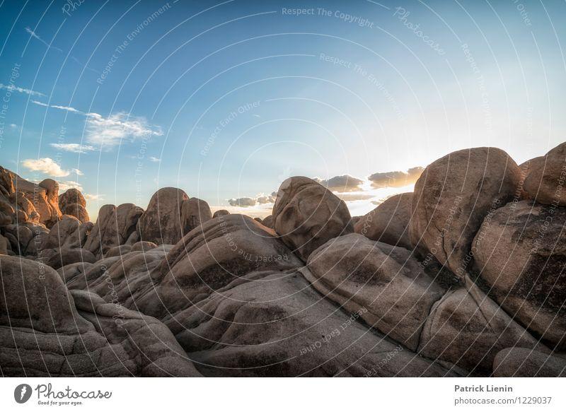 Land of Rocks Himmel Natur Ferien & Urlaub & Reisen Sonne Erholung Landschaft Wolken ruhig Ferne Umwelt Wärme Freiheit Felsen Wetter Zufriedenheit Tourismus