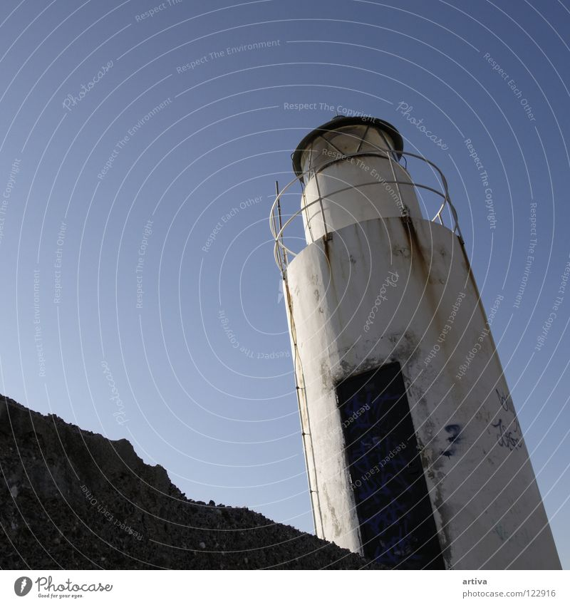 lantern Italien Himmel Licht Meer Camogli lanterna sky sea light genova