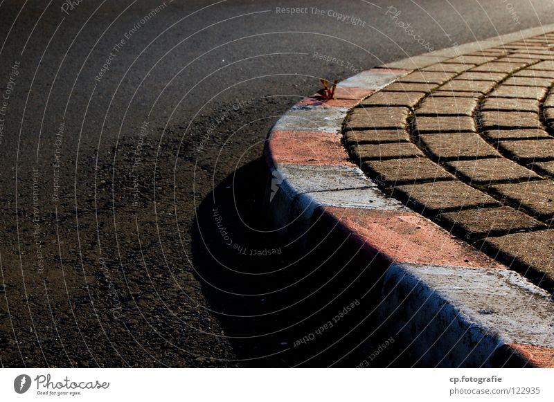 Rennstrecke Stadt Straße Schilder & Markierungen Asphalt Verkehrswege Rennbahn